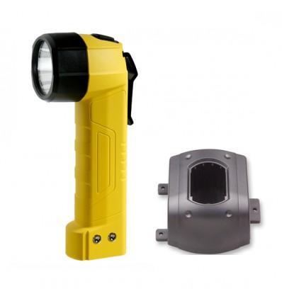 Преносим взривобезопасен LED фенер тип HL 12 EX с акумулатор и зарядно