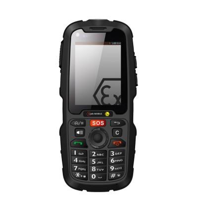 Искробезопасен мобилен телефон IS320.1 с Андроид